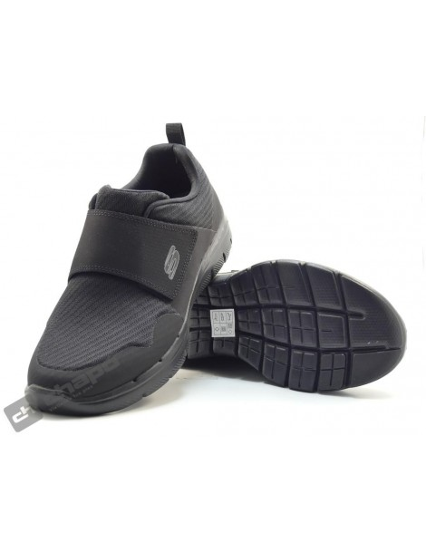 Zapatos Negro Skechers 52183