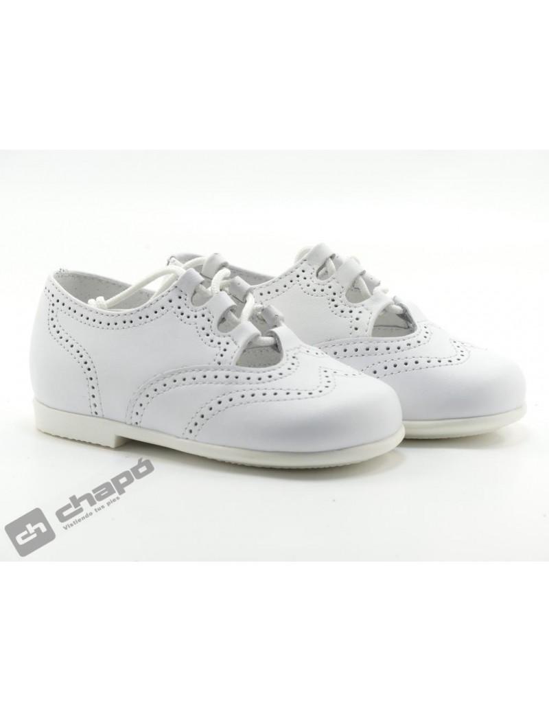 Zapatos Blanco D´bebe 40984