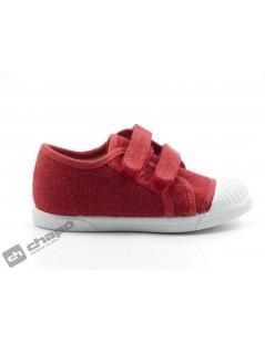 Zapatillas NiÑo-a Rojo Batilas 866