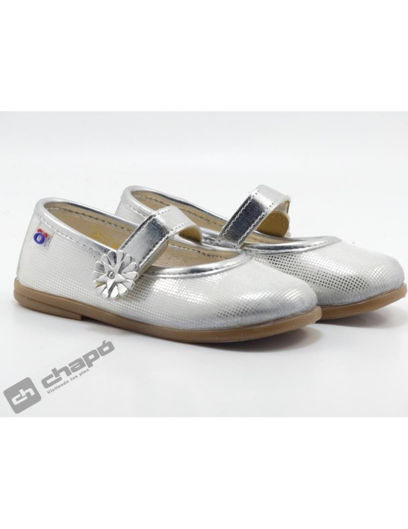 Zapatos Plata Conguitos 122 69