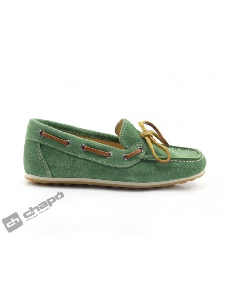 Mocasin Verde Yowas 6185