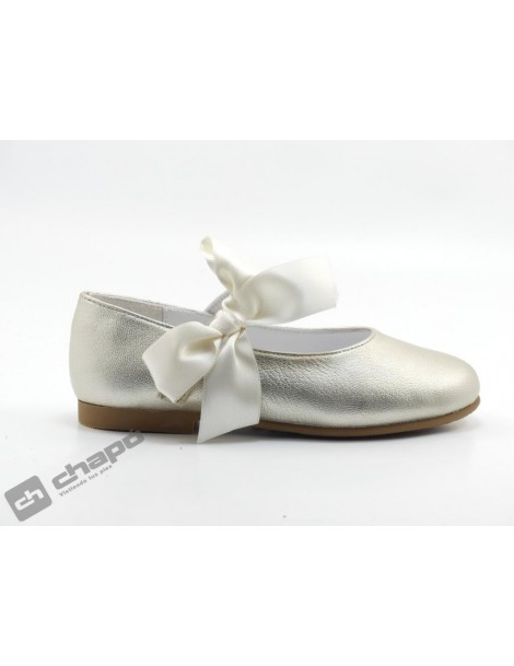Zapatos Platino Ruts Shoes A3015