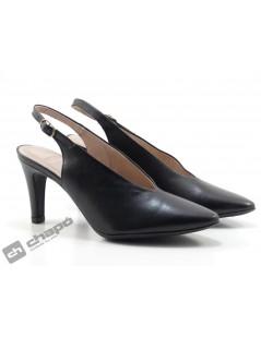 Mules Negro Zapatos Wonders M-2060
