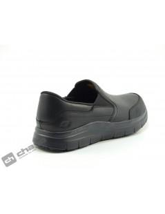 Sneakers Negro Skechers 77071ec-trabajo