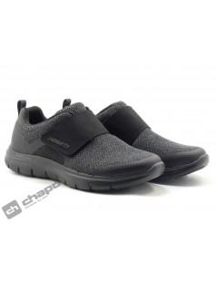 Sneakers Negro Skechers 12898