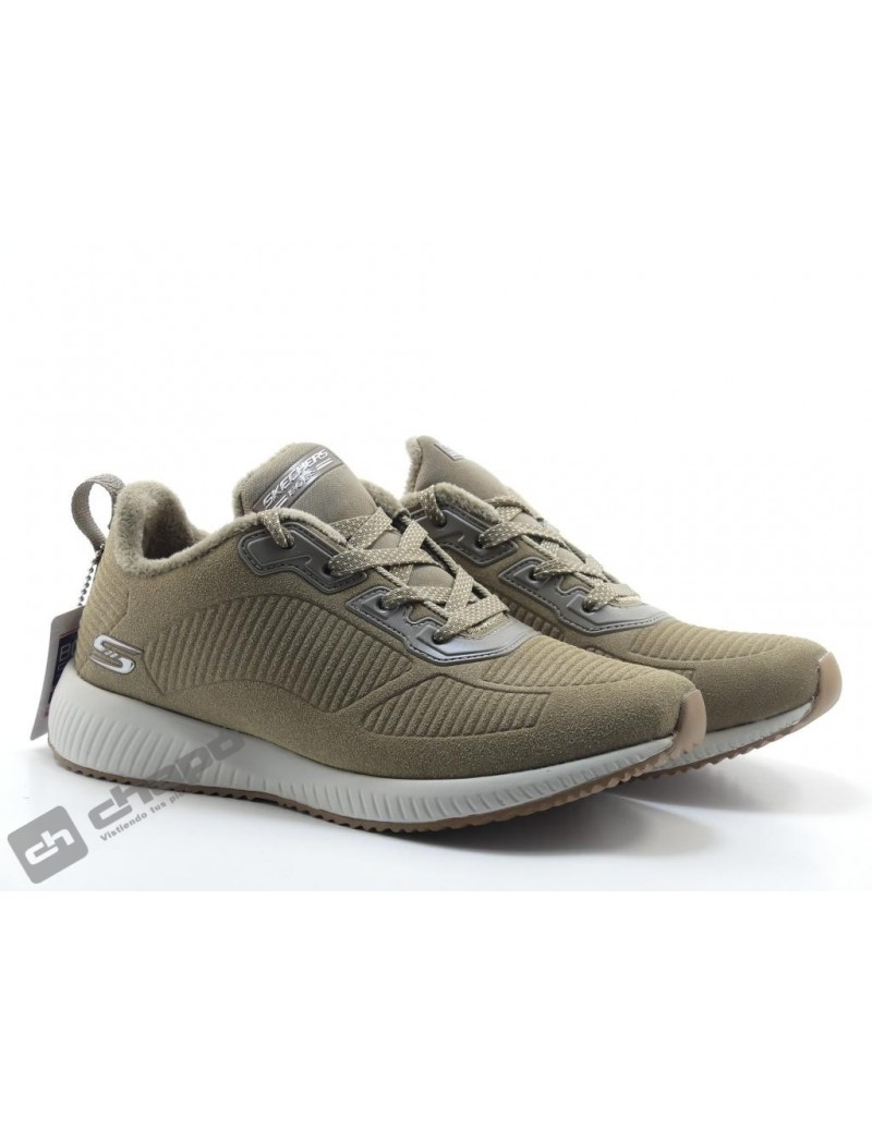 Snakers Taupe Skechers 32505