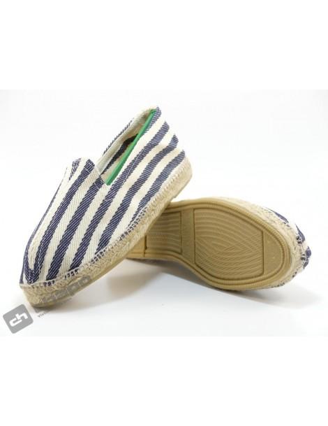 Zapatos Marino Enrique PÉrez M3-rayas