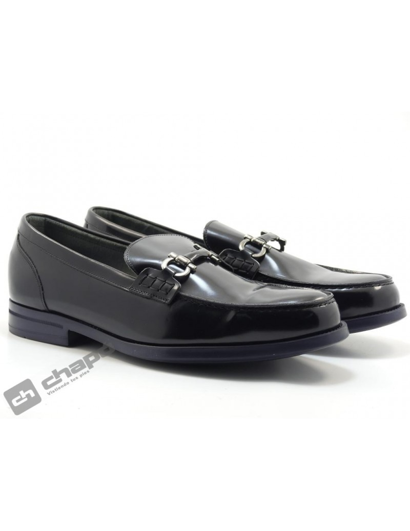 Zapatos Negro Angel Infantes 13052