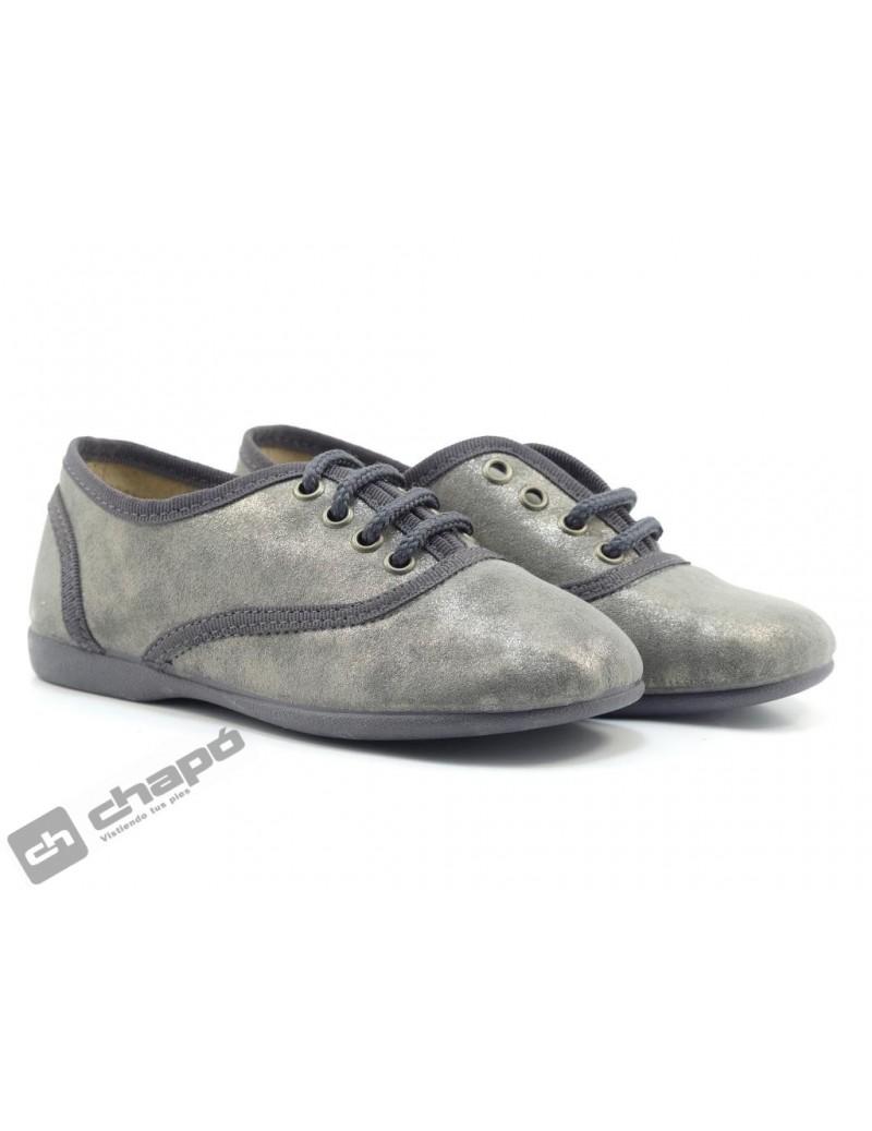 Zapatos Gris Batilas 13575
