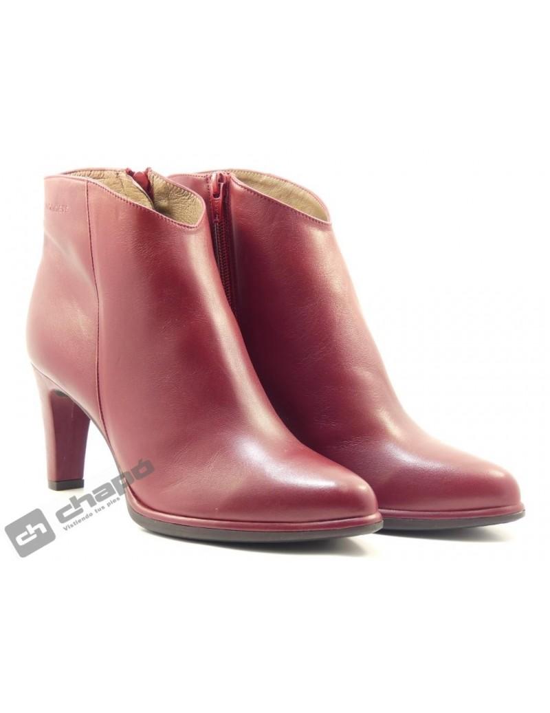 Botines Rojo Zapatos Wonders M-2623