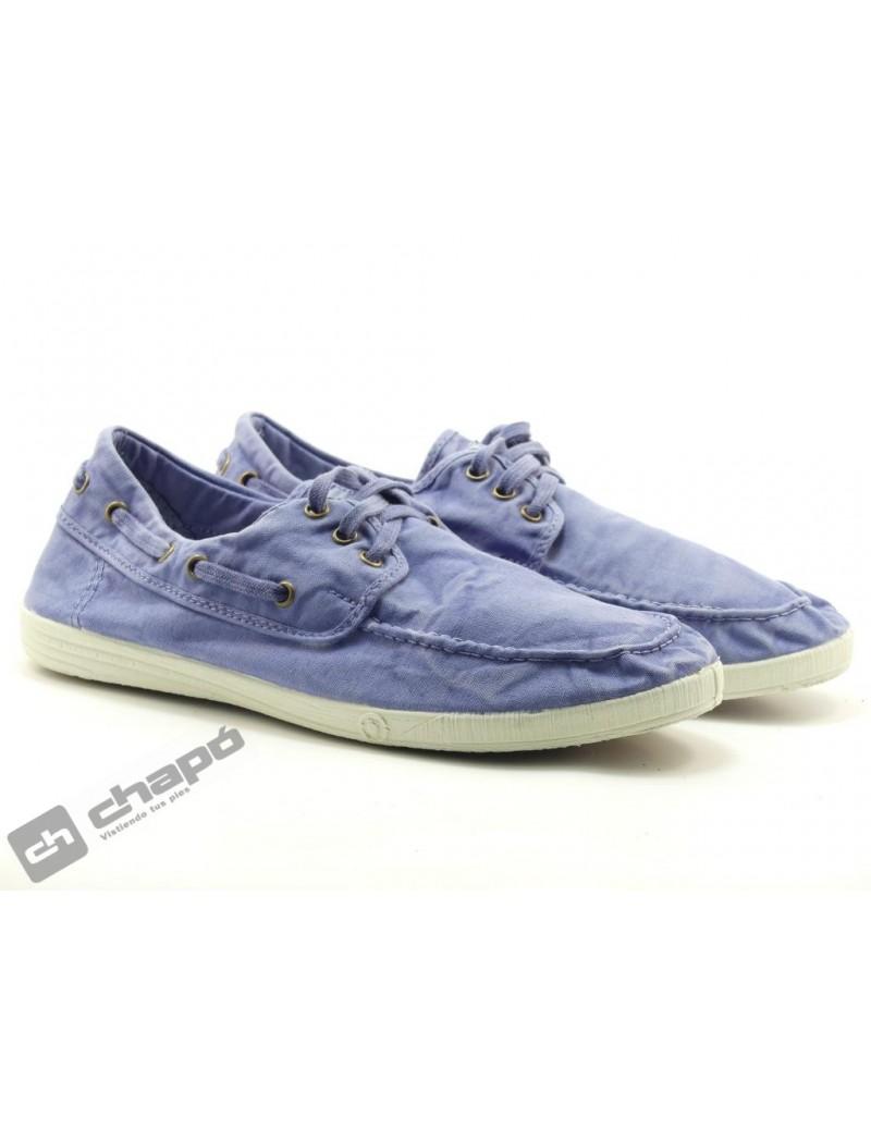 Zapatos Jeans Natural World 303e