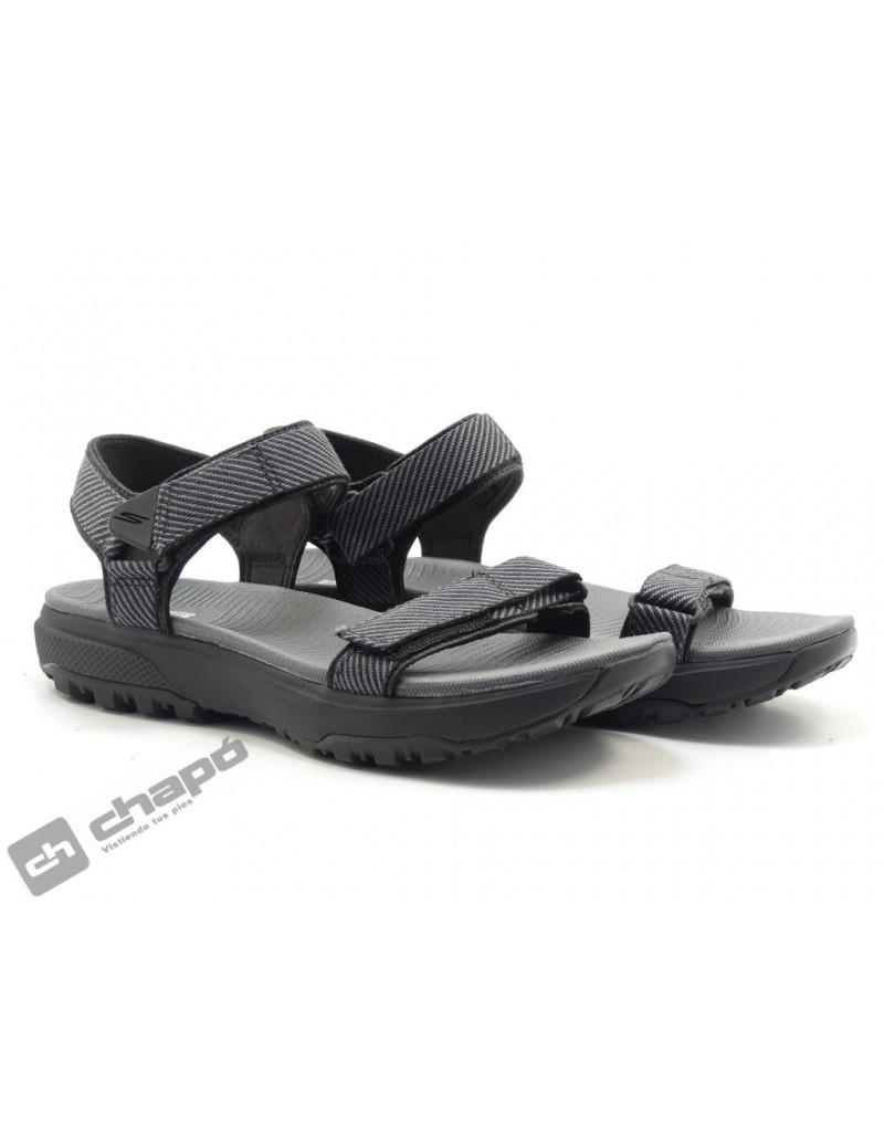 Chancla / Negro Skechers 16210
