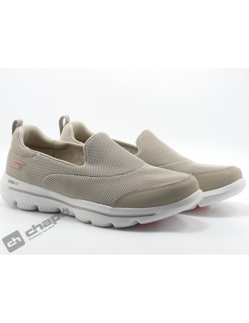 Snakers Taupe Skechers 15730