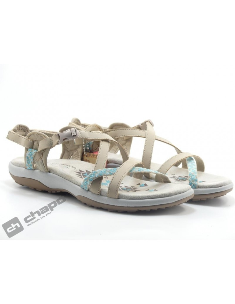 Chancla / Taupe Skechers 40955