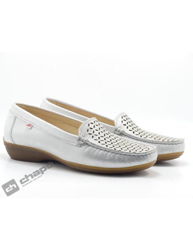 Zapatos Plata Fluchos F0513-aduna