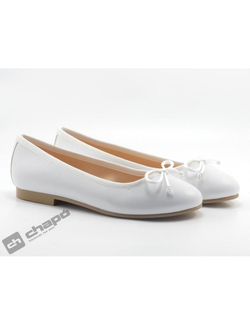 Zapatos Blanco Ruts Shoes A-3370