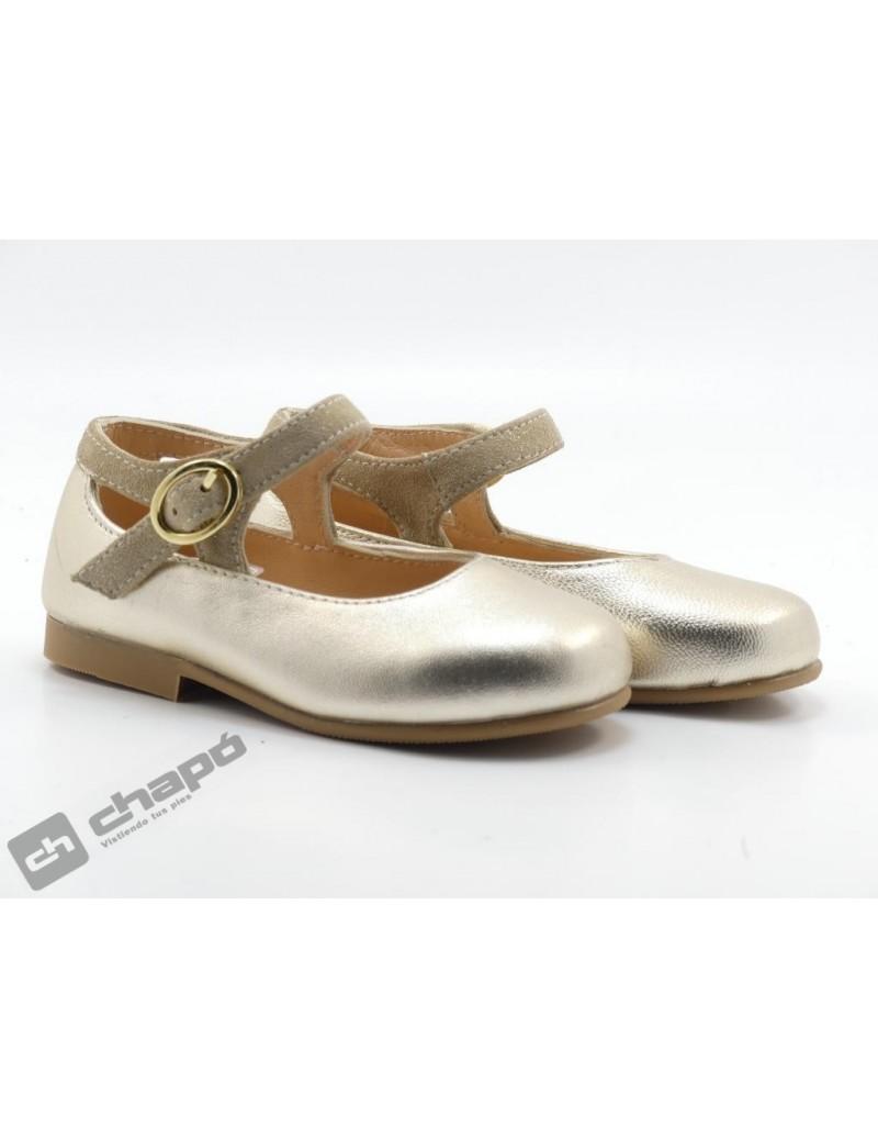 Zapatos Platino Ruts Shoes P-887