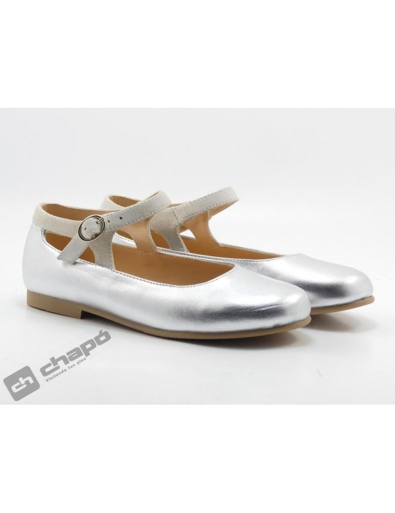Zapatos Plata Ruts Shoes P-887