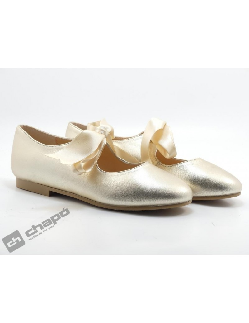 Zapatos Platino Ruts Shoes A-3445