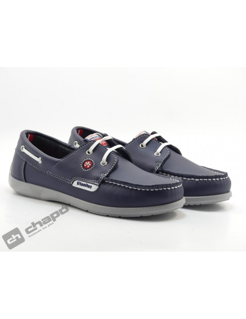 Zapatos Marino Titanitos L400 Sea
