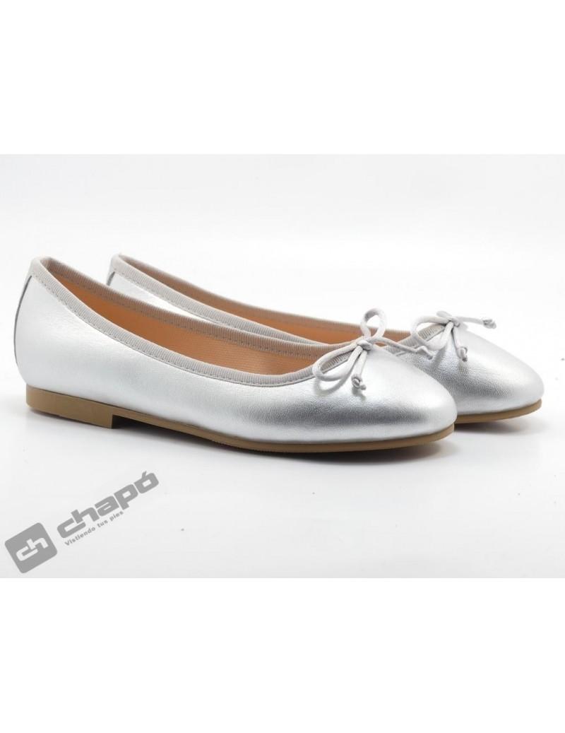 Zapatos Plata Ruts Shoes A-3370