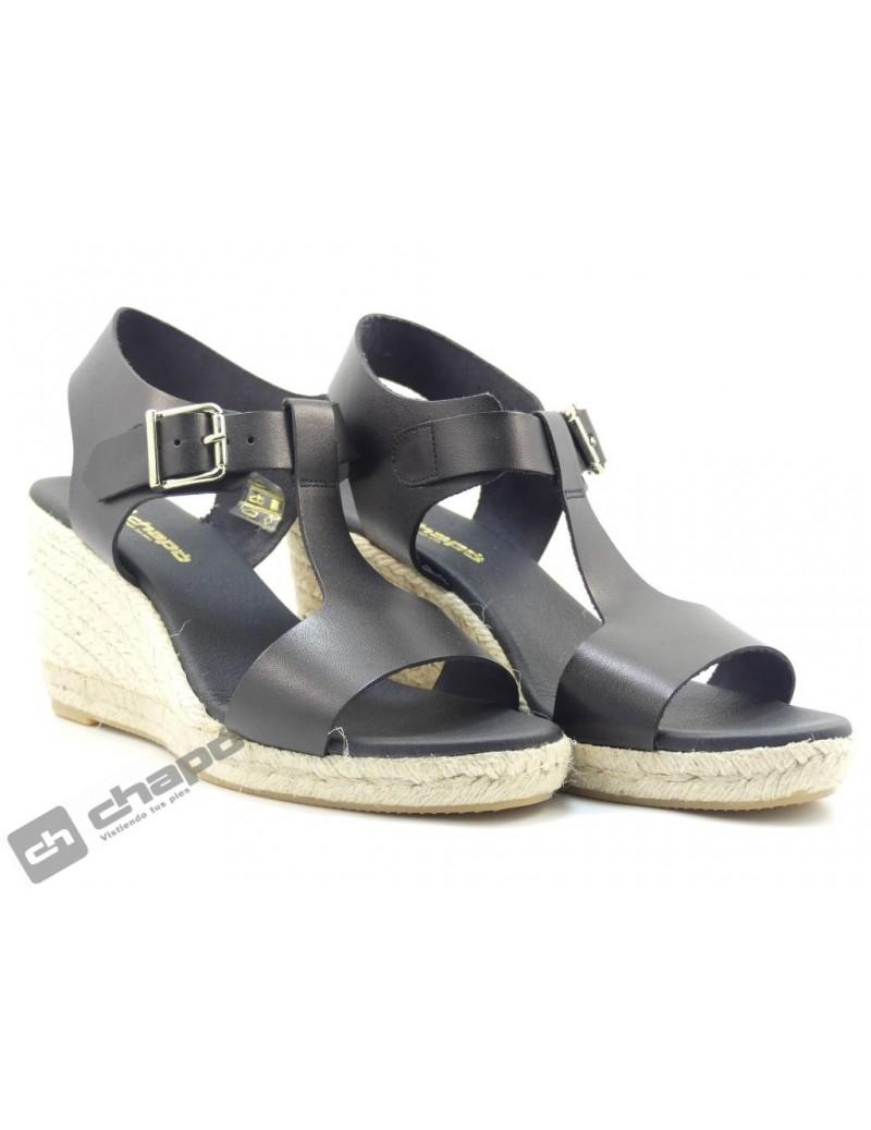 Zapatos Negro ChapÓ M/hie V/125