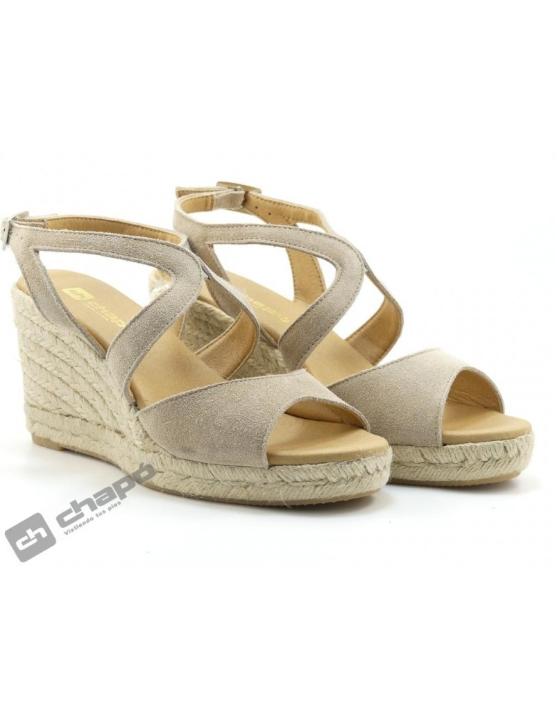 Zapatos Taupe ChapÓ Hies/s83