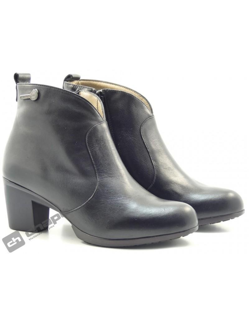 Botines Negro Zapatos Wonders G-4728-gore-tex