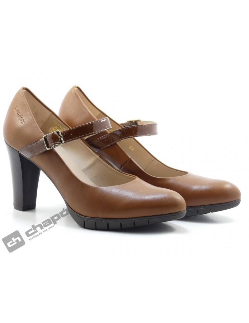 Zapatos Cuero Zapatos Wonders M-1951