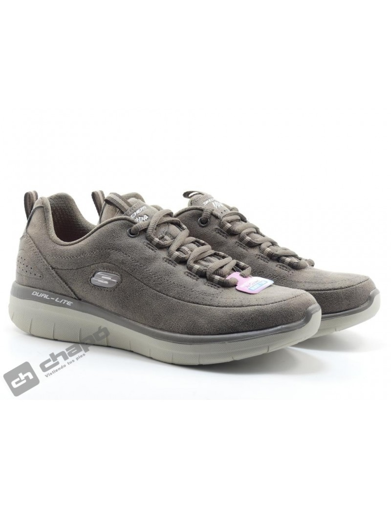 Snakers Taupe Skechers 12934