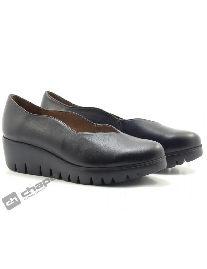 Zapatos Negro Zapatos Wonders C-33170