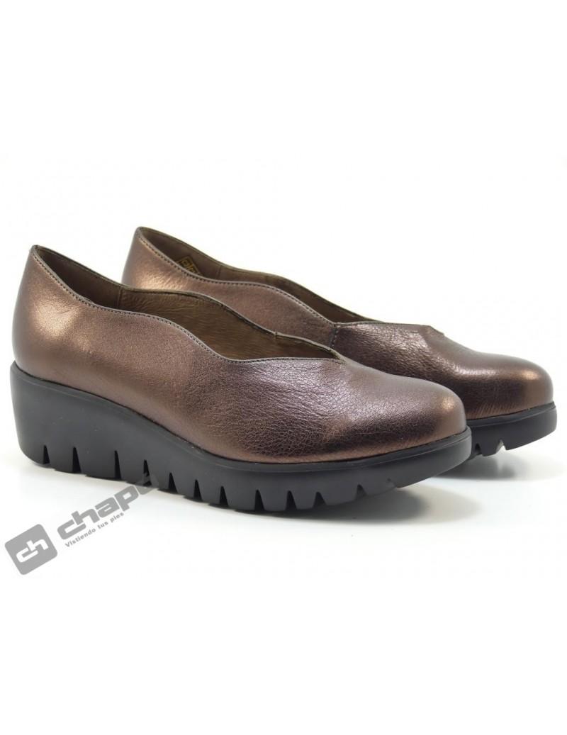 Mocasin Bronce Zapatos Wonders C-33170