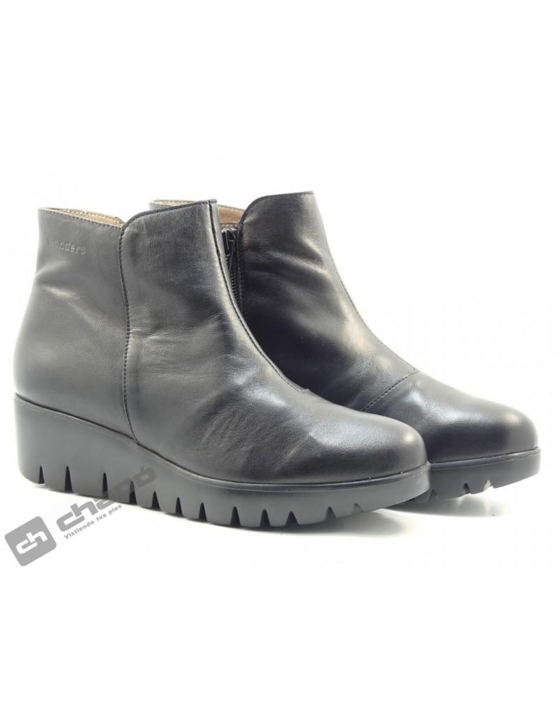 Botines Negro Zapatos Wonders C-33182