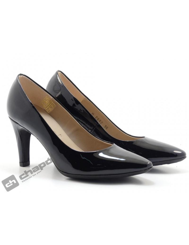 Zapatos Negro Wonders 2082