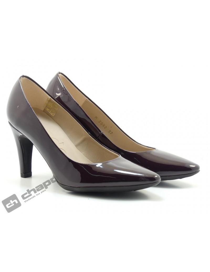Zapatos Burdeo Wonders 2082