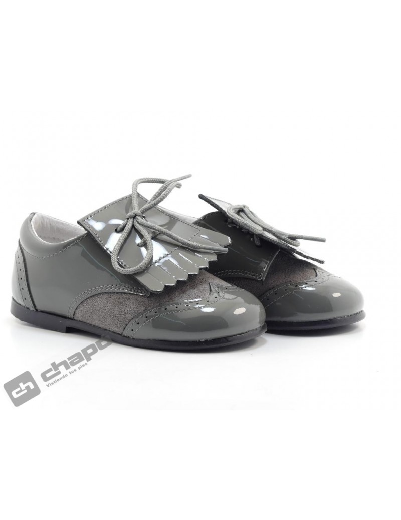 Zapatos Gris Chuches Ch-305