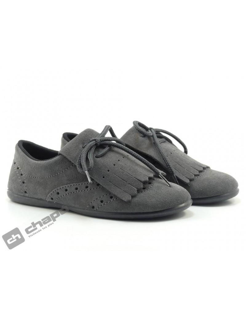 Zapatos Gris Chuches 910/s Mosq