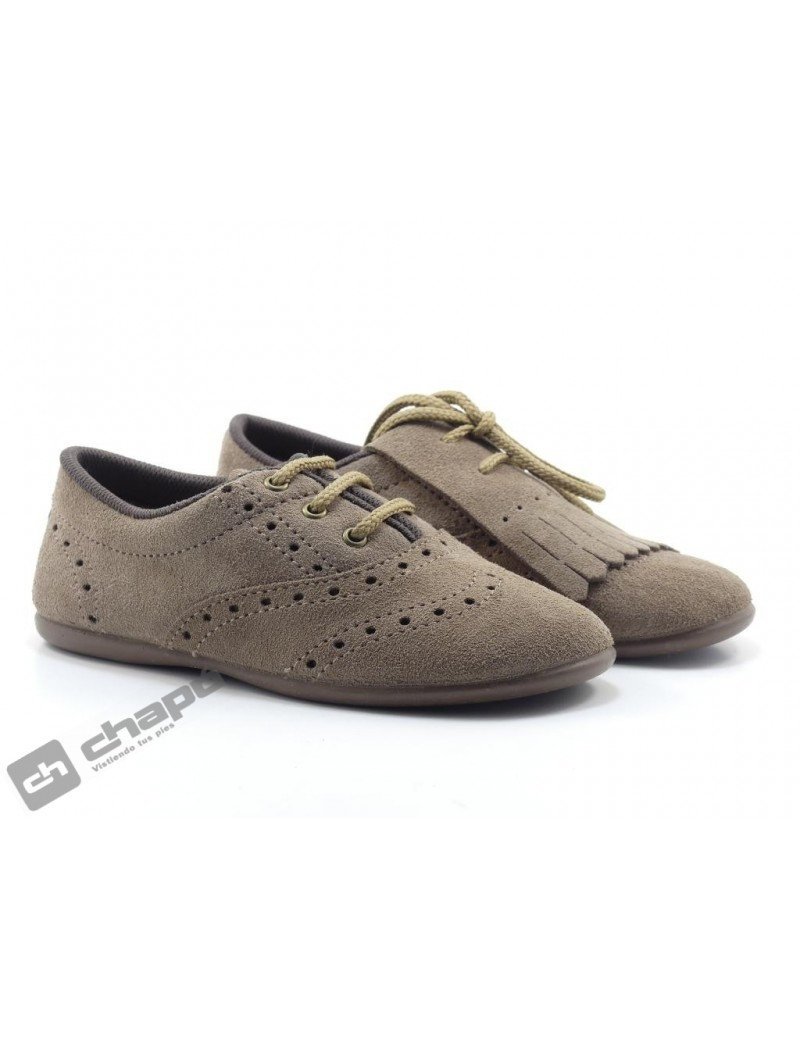 Zapatos Taupe Chuches 910/s Mosq