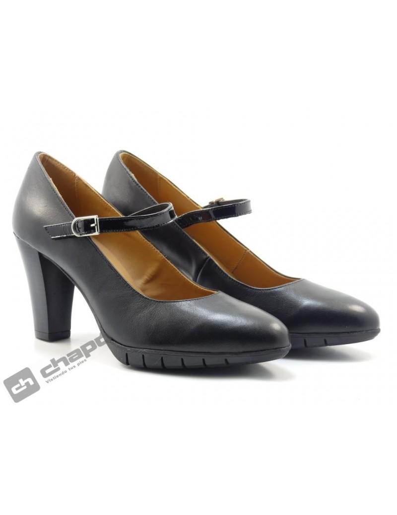 Zapatos Negro ChapÓ 53/1477/gs-napa