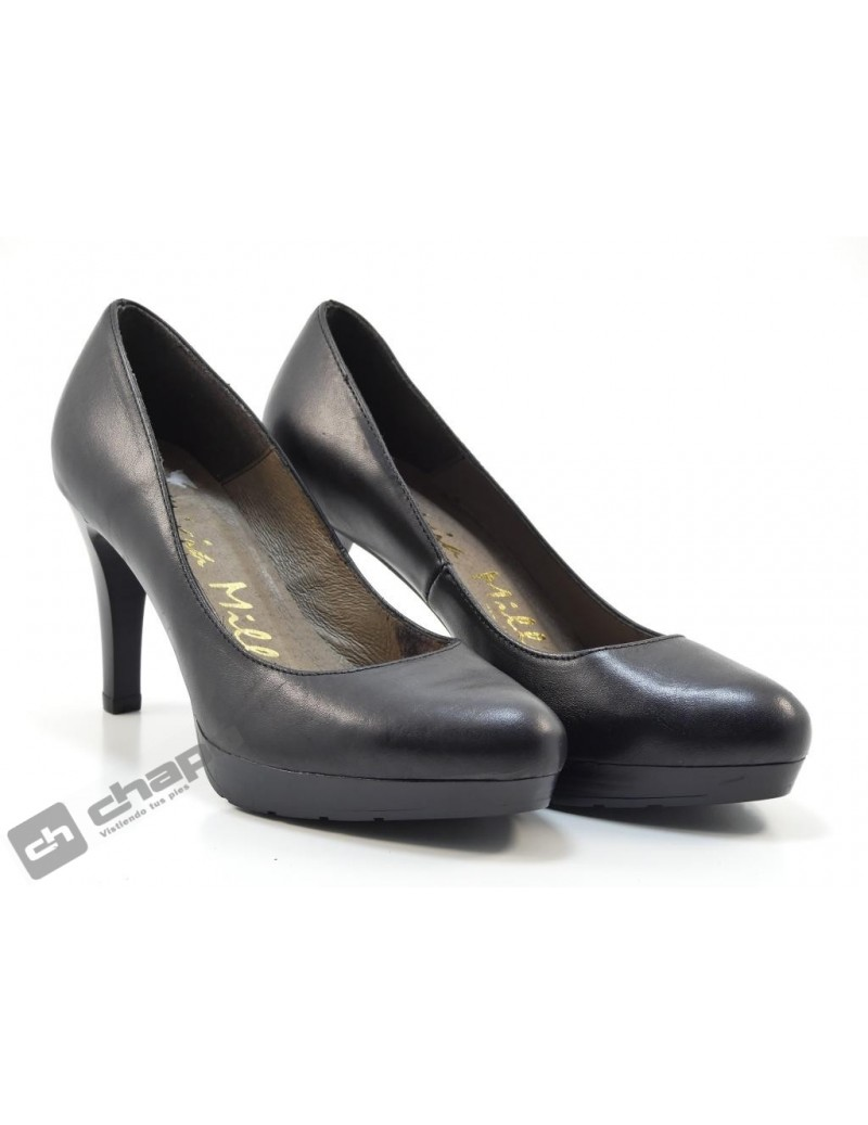 Zapatos Negro Patricia Miller 2163