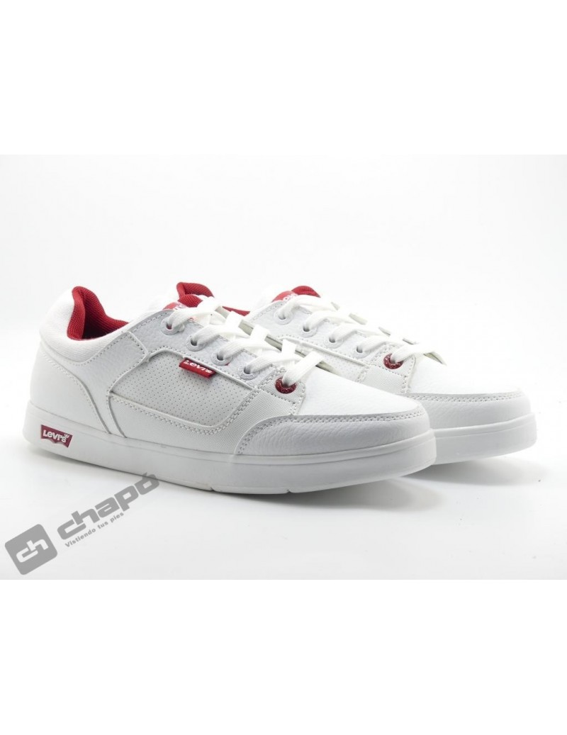 Zapatillas NiÑo-a Blanco Levi´s New Grace Low Lace