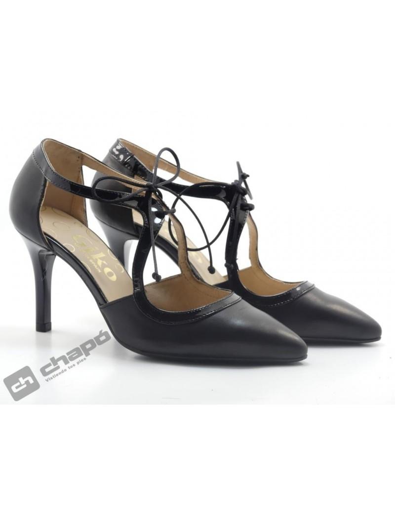 Zapatos Negro Giko 34578