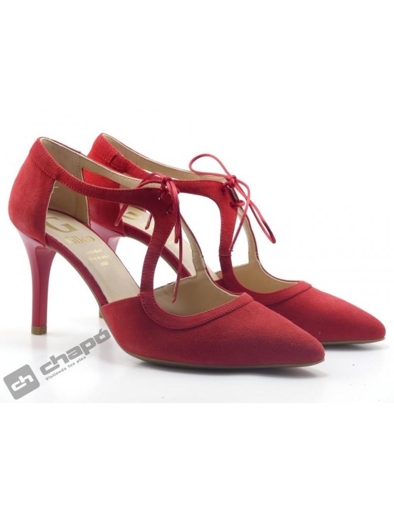 Zapatos Rojo Giko 34578