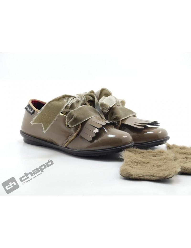 Zapatos Taupe Titanitos F650 Grasse