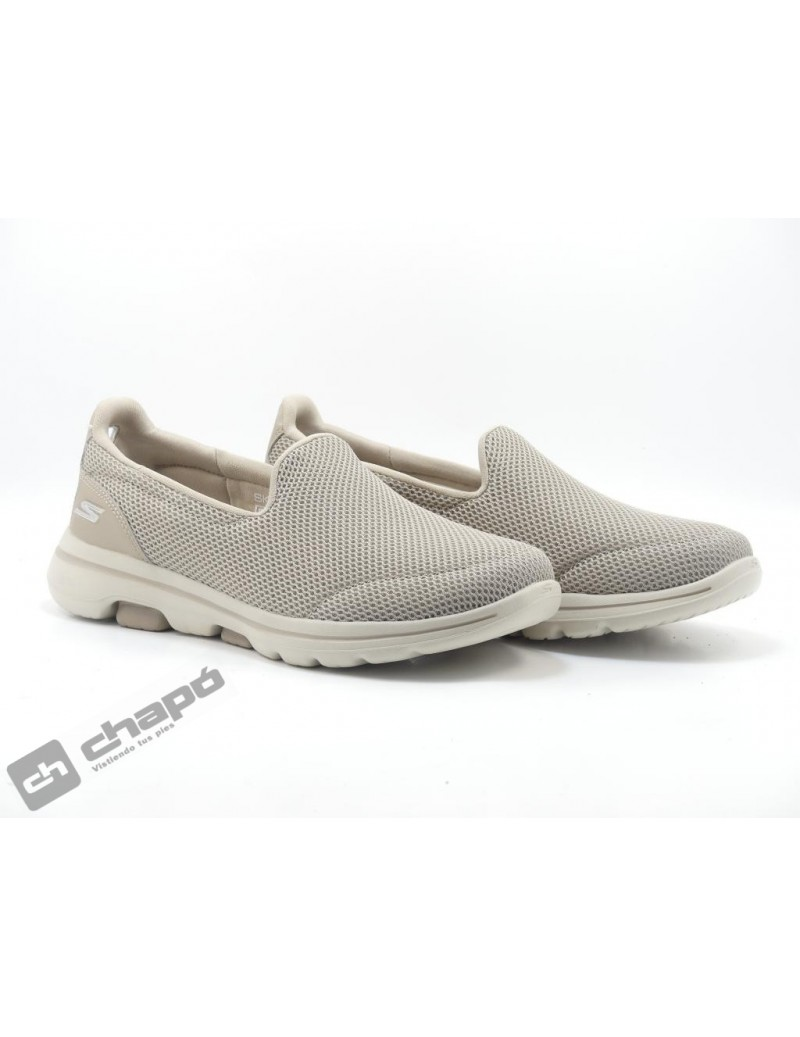 Snakers Taupe Skechers 15901