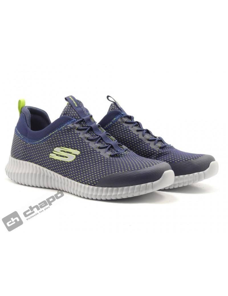 Zapatos Marino Skechers 52529