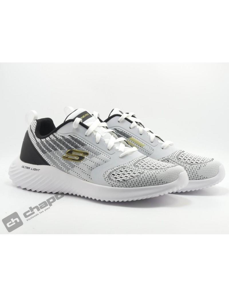 Zapatos Blanco Skechers 232004
