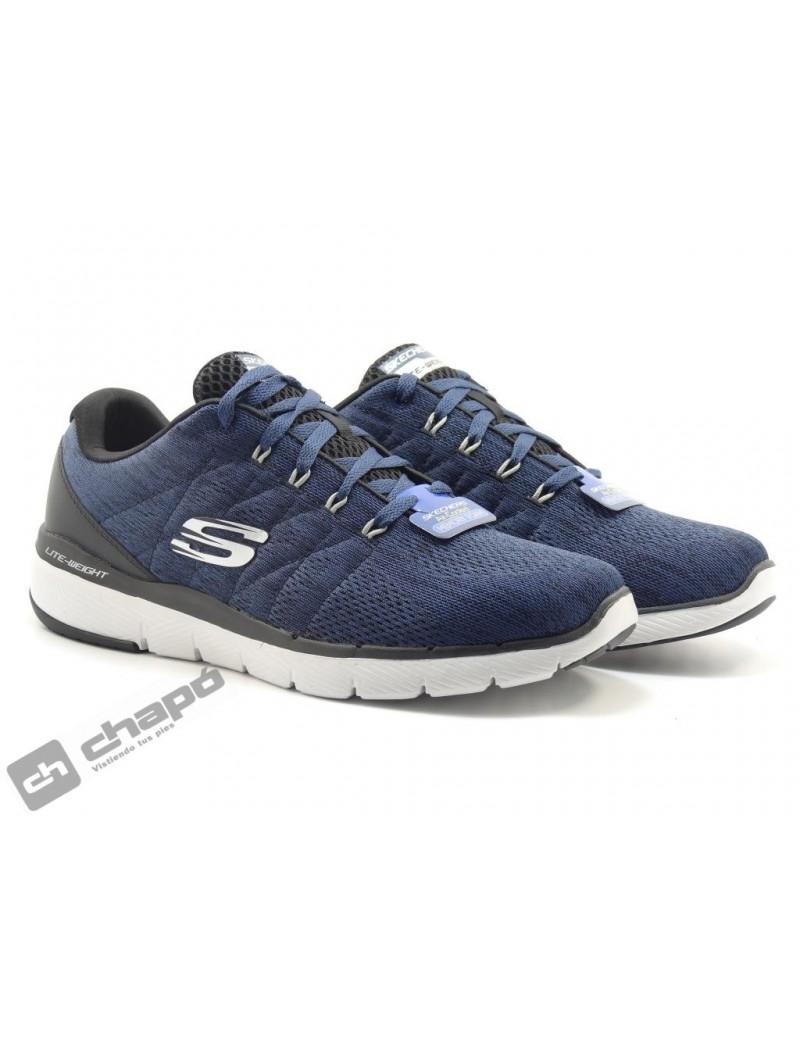 Zapatos Marino Skechers 52957