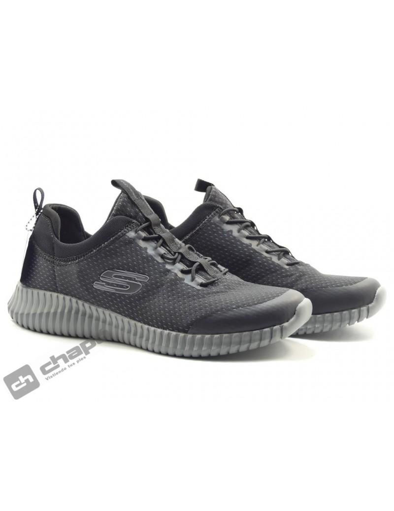 Zapatos Negro Skechers 52529
