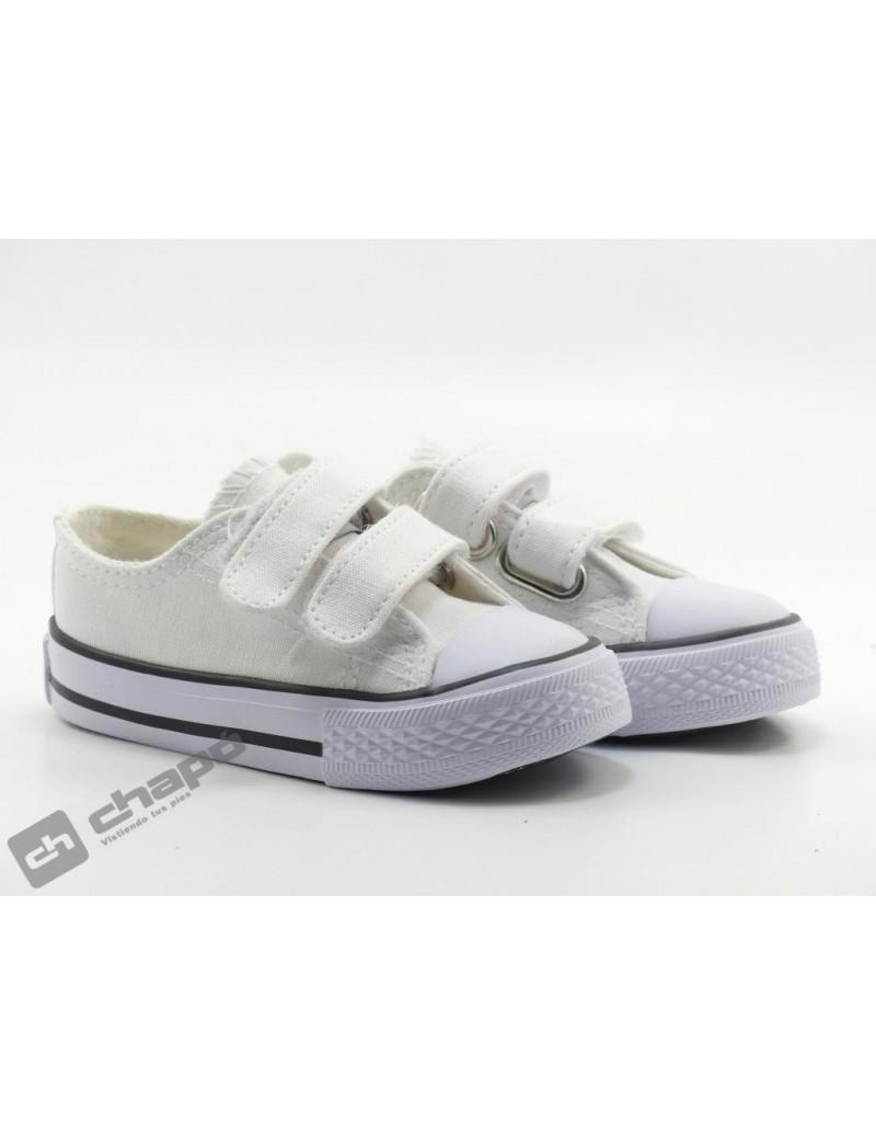 Zapatillas NiÑo-a Blanco Conguitos 141 00